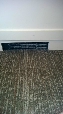 The Westin Governor Morris, Morristown: Dirty Air intake for heat/AC