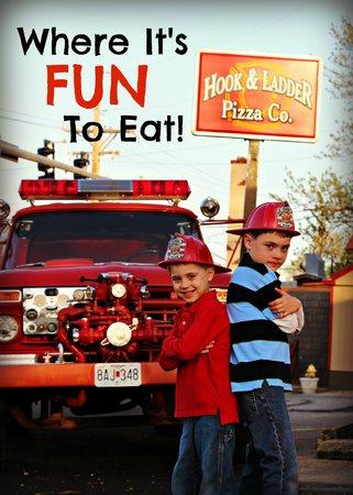 Hook and Ladder Pizza Co.: Good Times!