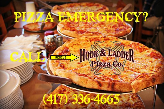 Hook and Ladder Pizza Co.: call us for your Pizza Emergency!