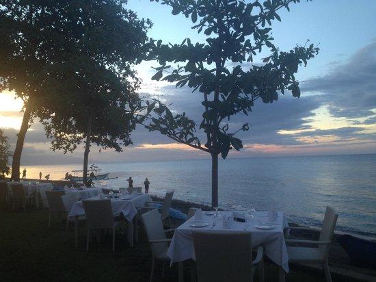 The Lovina: Abendessen