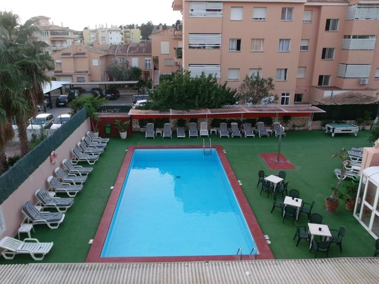 Plaza Santa Ponsa Boutique Hotel: The view from our room