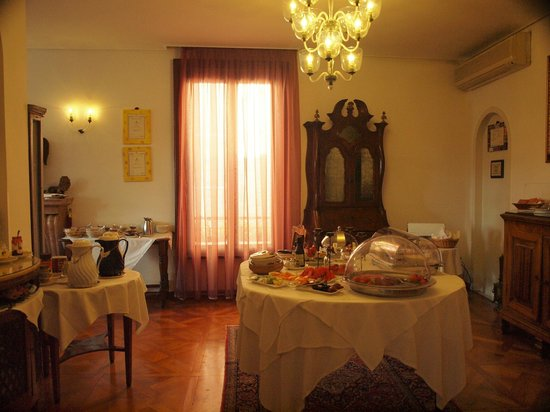 Ca' Angeli: Breakfast Room