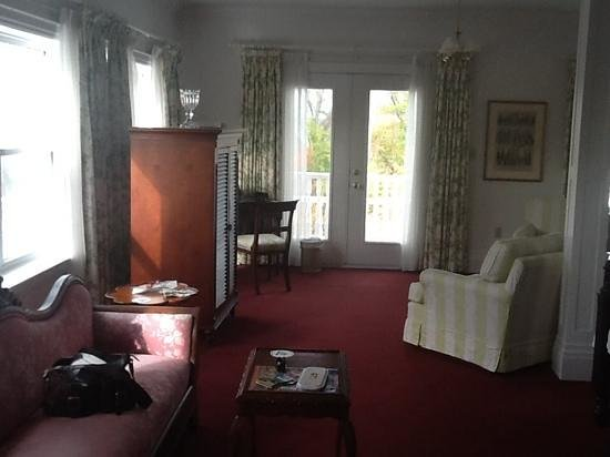 Claramount Inn & Spa : sitting area