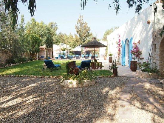 Villa Daba : The patio beside room Essaouira