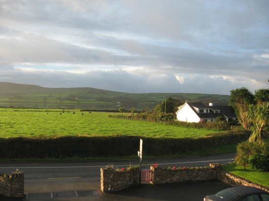 Brownes Bed & Breakfast Dingle: View from the front of the guest house
