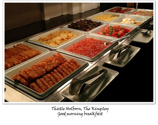 Thistle Holborn, The Kingsley: Buffet breakfast at Kingley Two