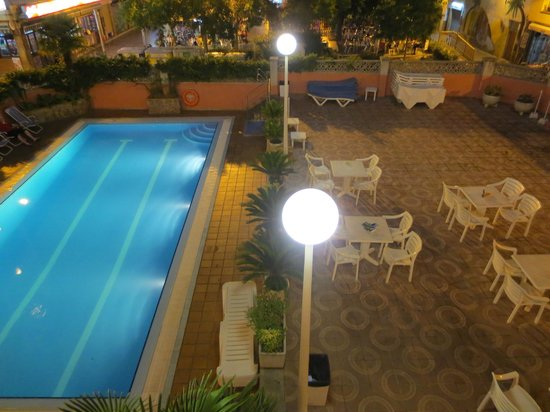 Aqua Hotel Bertran Park : uitzicht