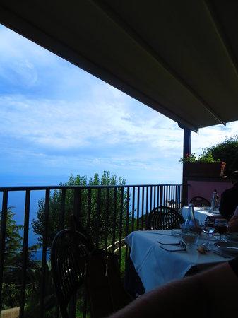 Villa Amore Ristorante : Sat on the restaurant terrace