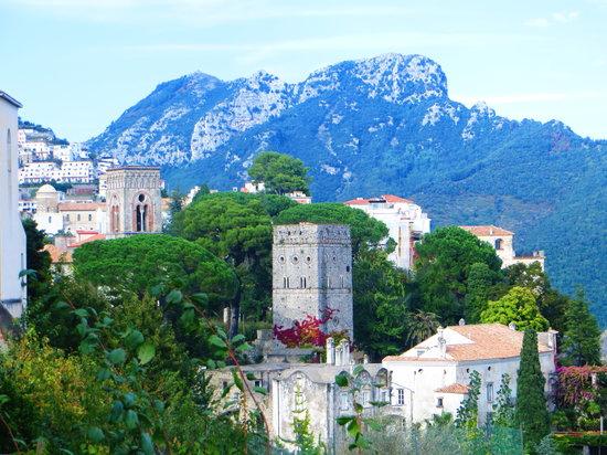 Villa Amore Ristorante : View from the restaurant terrace