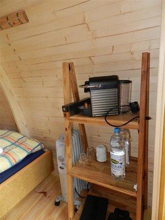 Forellensee: Holz-Iglu Podhouse Ausstattung