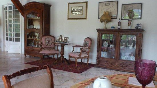 Quinta de Santa Maria Casa Nostra: Гостинная