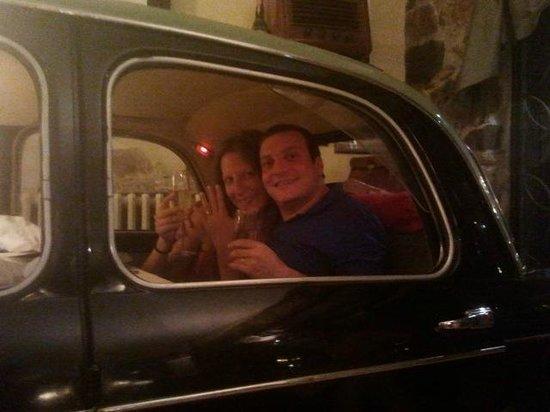 Hotel Rosati: Fiat 1100...si parte!!!