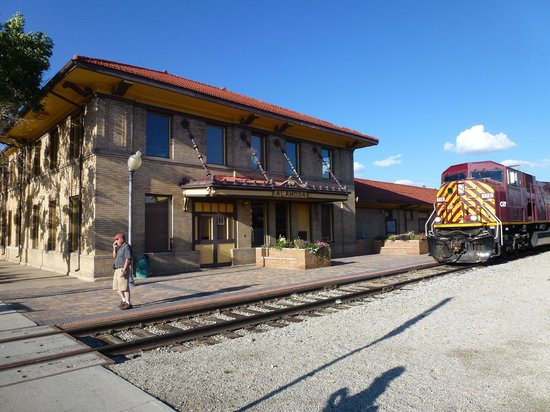 Rio Grande Scenic Railroad: Arrival back at Alamosa