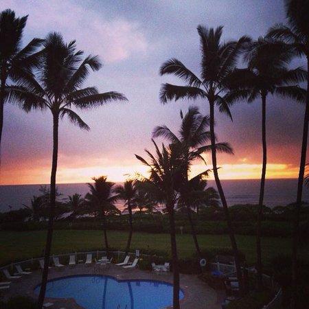 Castle Kaha Lani: Sunrise
