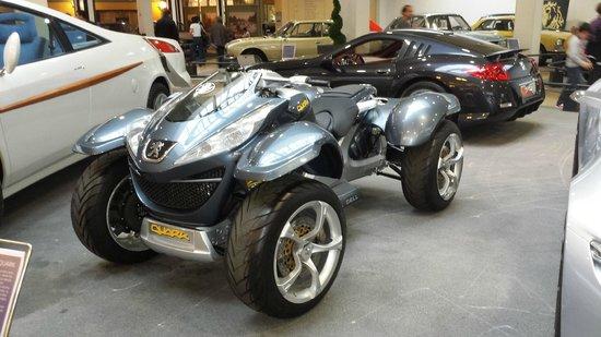 Musée de l'aventure Peugeot : Peugeot QUARK concept