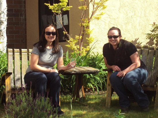 Silvan Ridge Winery : We always sit here when together