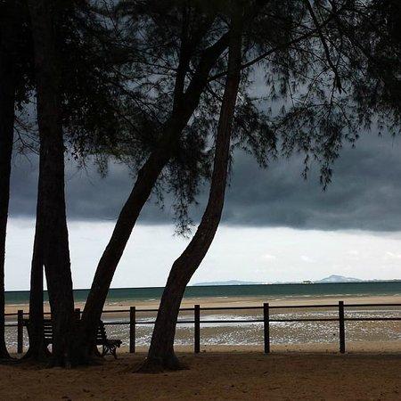 Club Med Cherating Beach: hello n gudbye