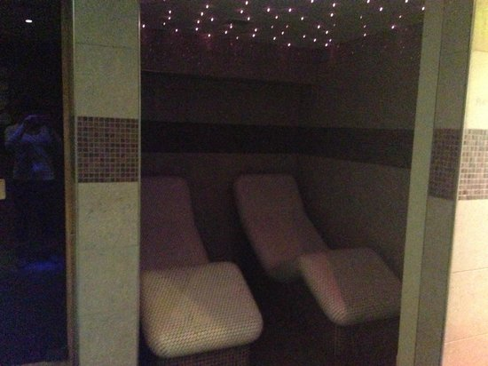 Novotel Manchester Centre : Relax ruimte aan de sauna