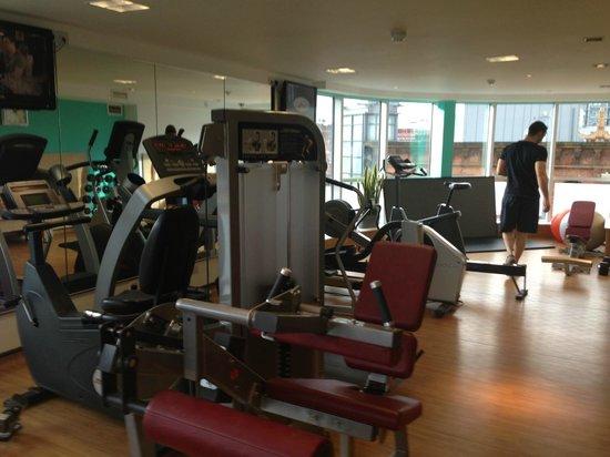 Novotel Manchester Centre : Fitnessruimte