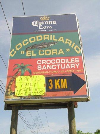 Santuario de Cocodrilos El Cora: Santuario