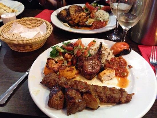 Red Mezze : mixed grill
