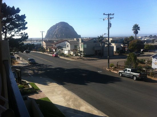 Comfort Inn Morro Bay: View from the balcony of our room