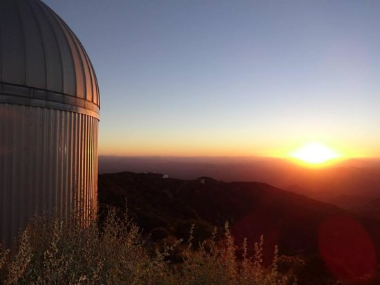 Kitt Peak National Observatory : Sunset at Kitt Peak