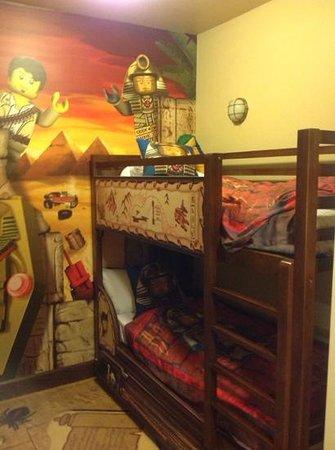 LEGOLAND California Hotel: Adventure room