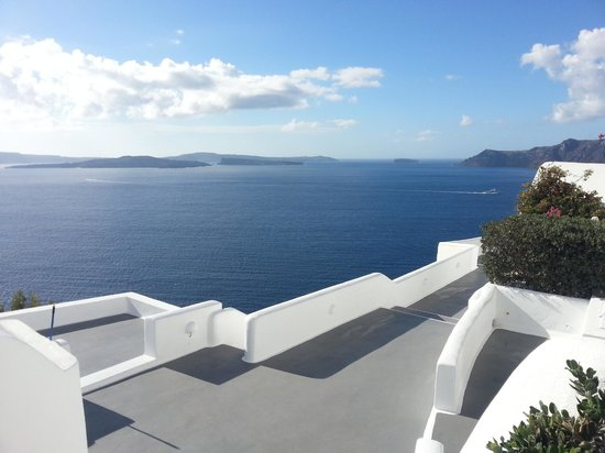 Canaves Oia Hotel: View of the Caldera