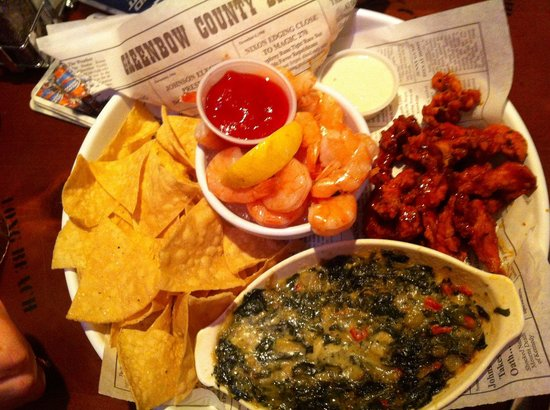 Bubba Gump Shrimp Co. Restaurant and Market: Appetizer sampler