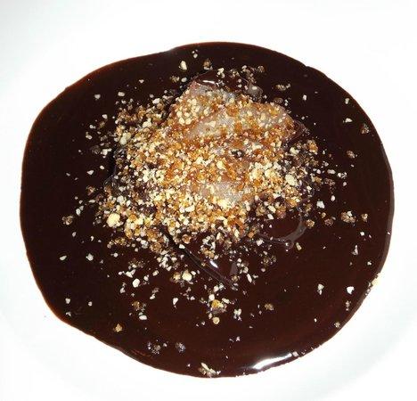 Gowlland Harbour Resort : Chocolate & praline soup