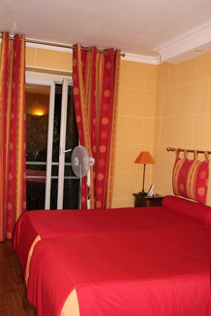 Hotel du Chateau: номер