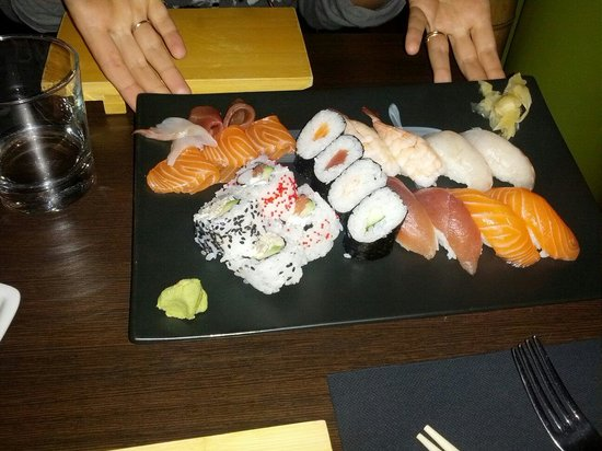 Fish Cafe Bistrot: Sushi reale