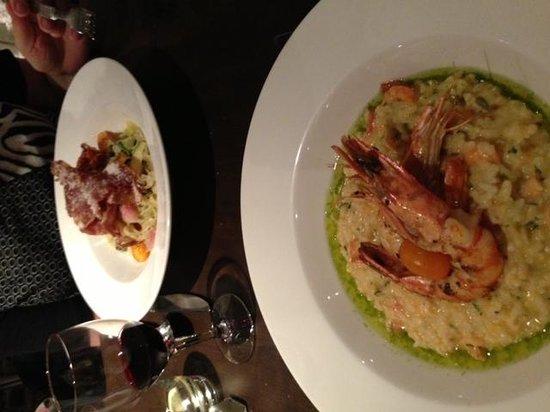 Gusto Restaurant : Main Course - Risotto