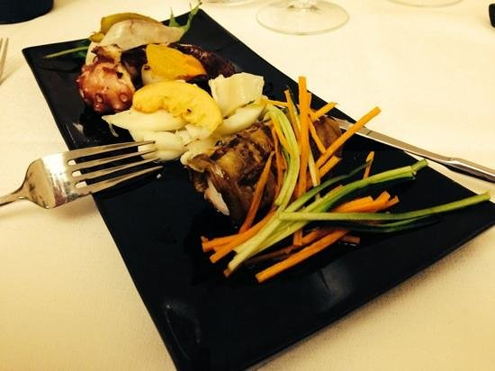 Torre Palazzelle: Mixed seafood starter