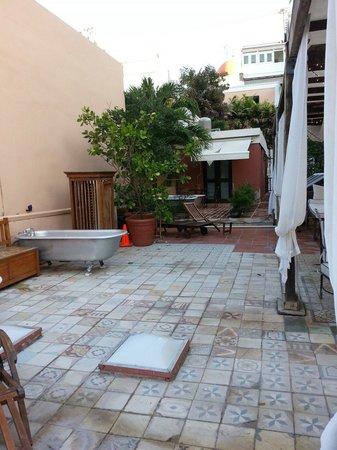 Villa Herencia: Rooftop patio