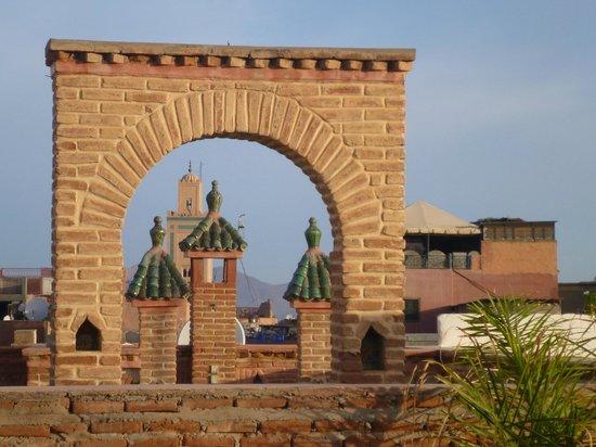 Riad Danka: Vue de la terrasse