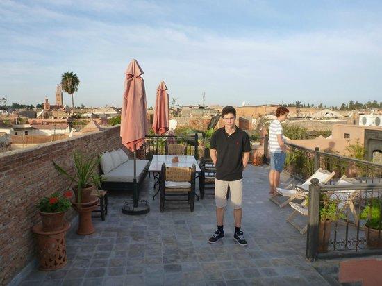 Riad Danka: La terrasse du Ryad