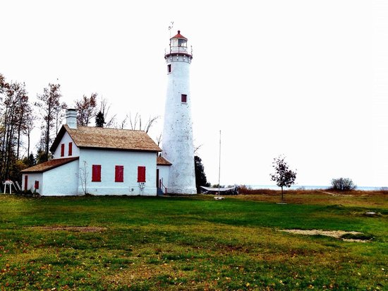 Harrisville, MI: Sturgeon Point Lighthouse 10-27-13