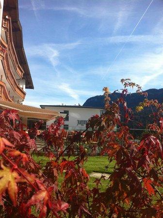 Juffing Hotel & Spa: Blick auf den neuen Teil