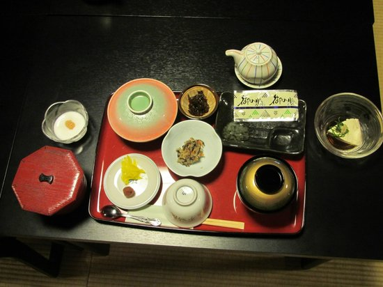 Koyasan Fudoin Temple : Breakfast