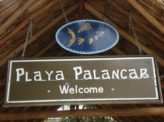 Playa Palancar: welcome