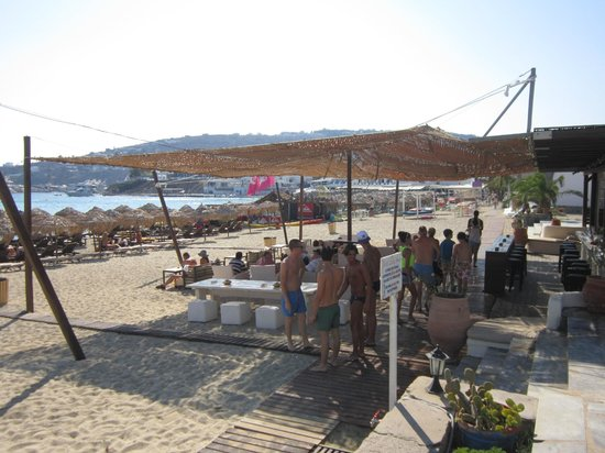 Hotel Lady Anna: Pool/ beach bar