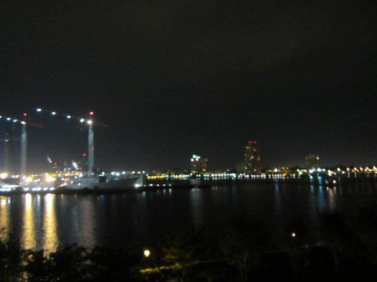Sheraton Norfolk Waterside Hotel: night view