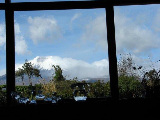 Hacienda San Agustin De Callo: Vista da Sala de Estar