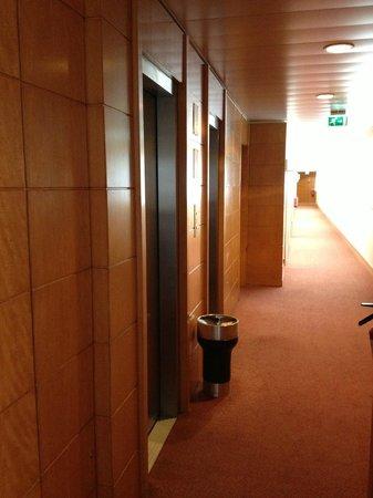 Hotel Roma: Hallway in room area