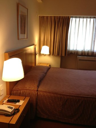 Hotel Roma: Double bed