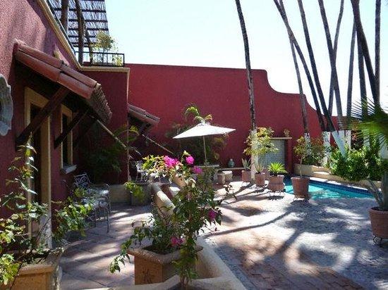 Posada de las Flores La Paz : patio