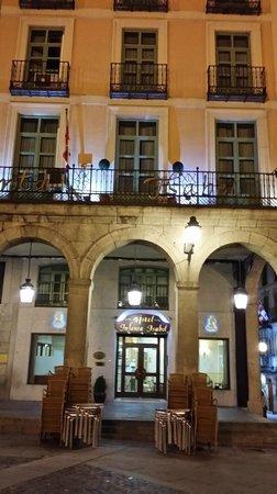 Infanta Isabel Hotel: Fachada del Hotel