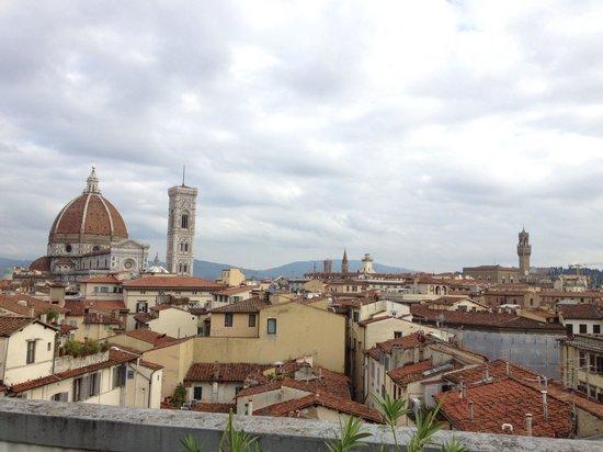 B4 Astoria Firenze : Vista dal garden della junior suite!! Dreams